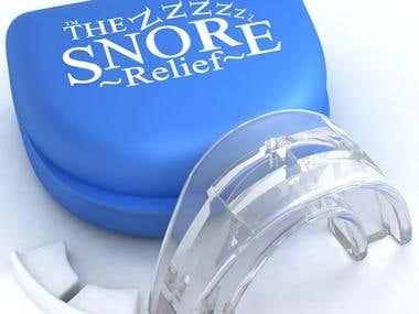 3D Rendering - Snore Relief