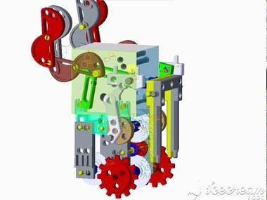 Boxer Robot Dynamics