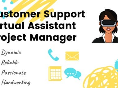 Admin Support/Project Manager