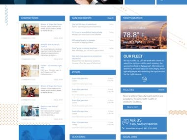 Responsive SharePoint Intranet portal (Classic View)