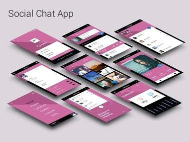 Social App(include Video&Voice chatting) - Android