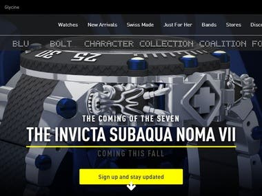 Website : https://www.invictawatch.com/