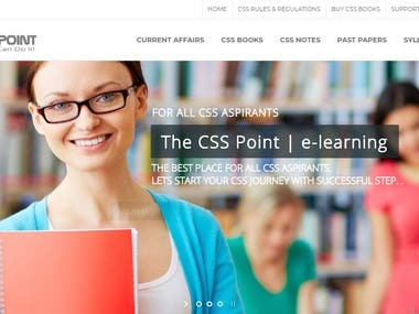 CSS POINT WEB APPLICATION