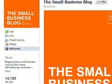 Small Business Blog Site