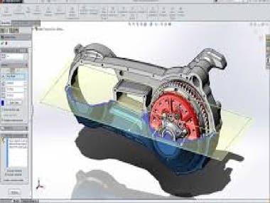 CAD/CAM Design(Modeling, Rendering, Animation, Simulation)
