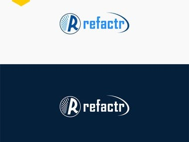 "Brand LOGO Design for ""Refactr"""