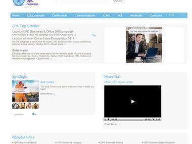 UPC Broadband B2B Portal