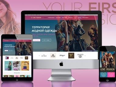 Online store LOVE FASHION