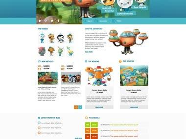 Freelancer contest webdesign
