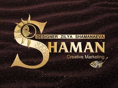 Logo Shaman design