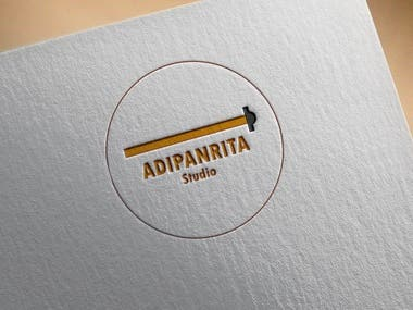 simple logo for architecture company