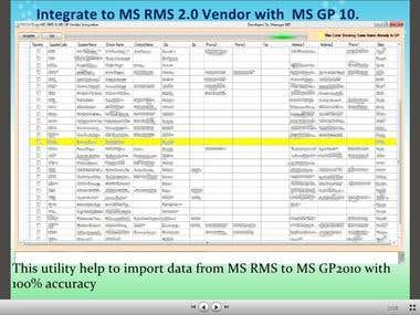 Integration Microsoft RMS 2.0 to Microsoft GP 10