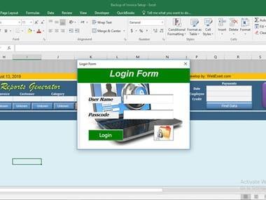 Invoice Deshboard