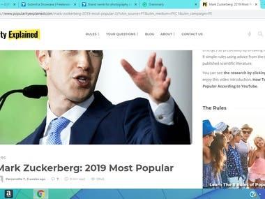 Mark Zuckerberg: The Social Media Giant