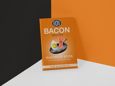 Bacon Recipes eBook Cover Design