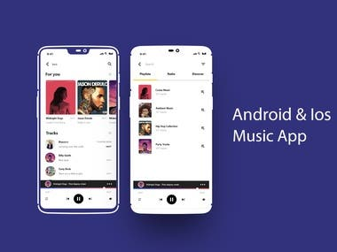 Android & Ios Music App