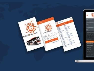 Fleet Management Mobile app + application