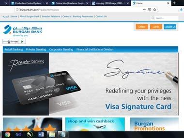 Burgan Bank Kuwait Website