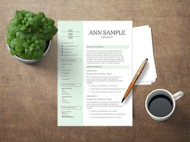 CV/Resume Template