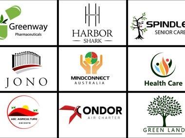 personal, minimalist, modern, flat minimalist logo