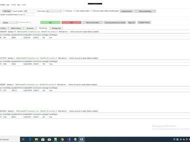 Crypto Bitcoin bitmex multi account multi order bot