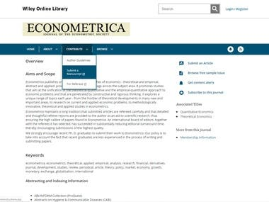 econmence site complete