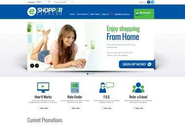 E-Shooper Site Develop