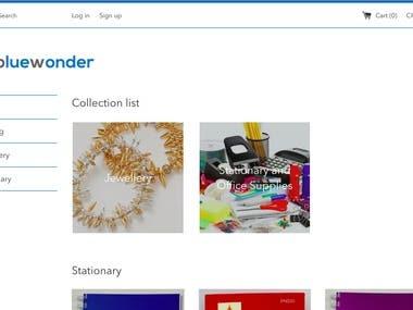 Blue Wonder Commerce - Ecommerce