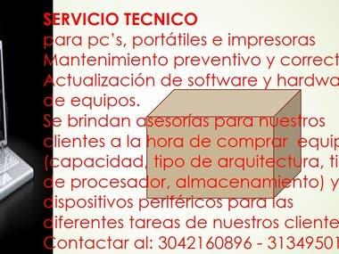 Técnico sistemas con habilidades linguisticas