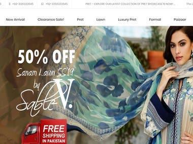 SABLEV Online Shop