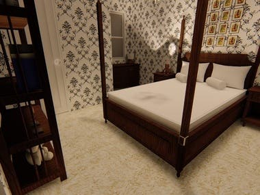 Country Side Bedroom