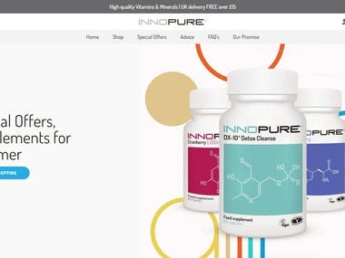Innopure Vitamins and Supplements