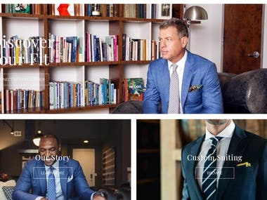 Q Clothier – Custom Suits