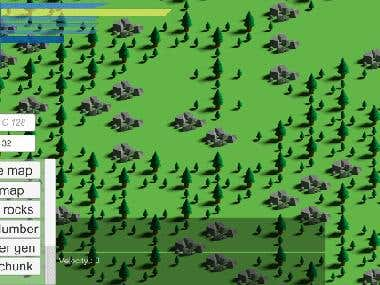 Procedural generated Android game