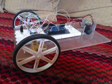 Arduino based remote control project