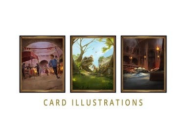 Card Illustrations