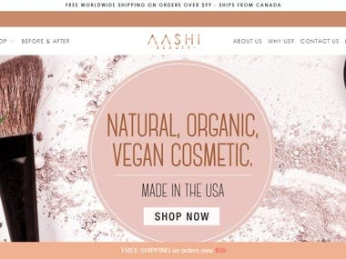 Aashi Beauty Products