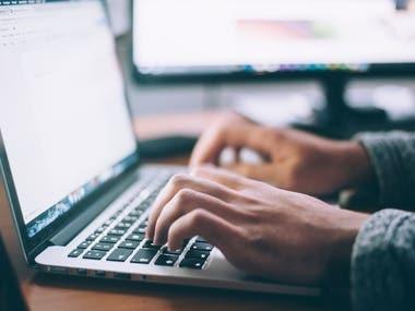Typing Write & Data entry