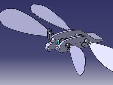 Robotics project- Design a flying dragonfly