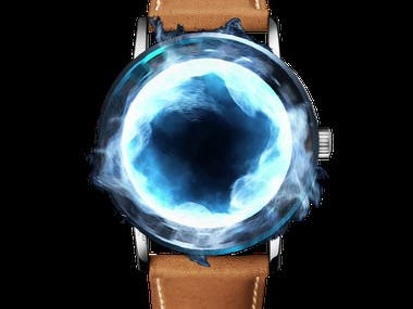 Website designed for online watch retail company