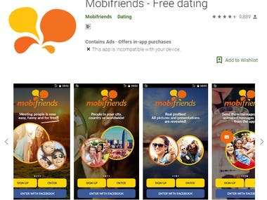 Mobifriends - Free dating