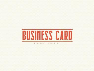 Visites cards