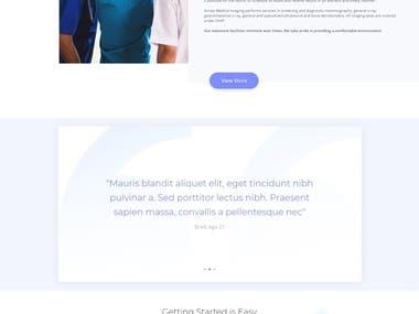 Build Medical website using DIVI Theme