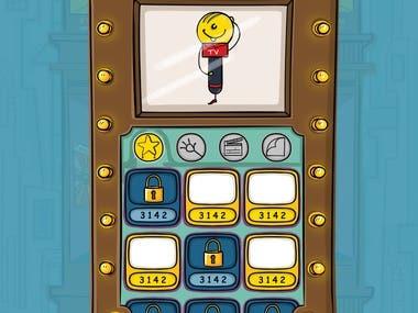 Menu and UI design - Tv tycoon game