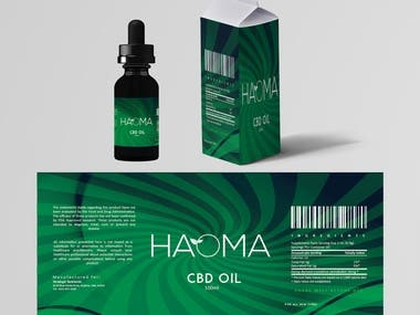 Design a label (Haoma)
