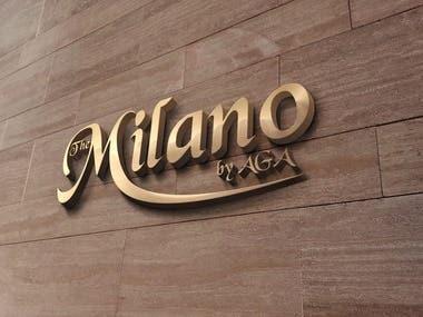 Logo design for The Milano by AGA