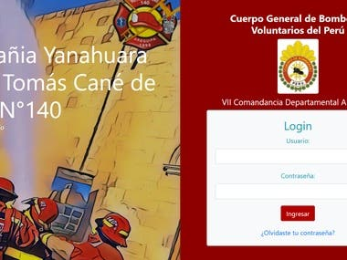 Firestation services registry Django app