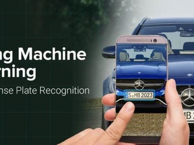 Car Number OCR/Machine Learning