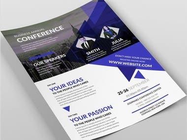Professional Flyer Design, Poster Or Business Flyer
