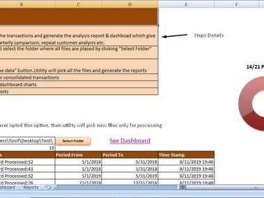 Excel Automation & Reports